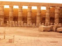 Египет, Северная Африка, висок Луксора, Karnak Стоковые Фото