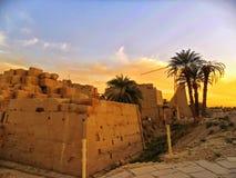 Египет, Северная Африка, висок Луксора, Karnak Стоковое фото RF