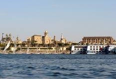 Египет luxor Нил Стоковые Фотографии RF
