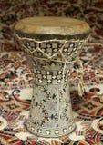 египтянин dumbek барабанчика Стоковые Изображения