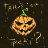 легко редактируйте ночу изображения halloween для того чтобы vector Стоковое Изображение