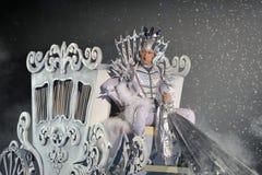Его королевская возвышенность - Evgeni Plushenko в ледовом представлении стоковые изображения rf