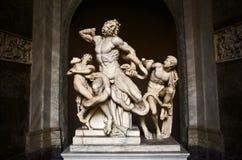 его сынки скульптуры laocoon Стоковое Изображение RF