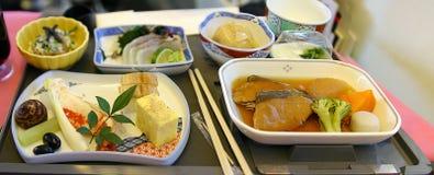 еда азиата авиакомпании Стоковая Фотография RF