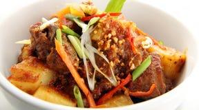 еда азиата близкая вверх Стоковые Фотографии RF