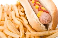 еда быстро-приготовленное питания Стоковые Изображения