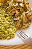 еда величает рис Стоковая Фотография RF