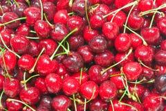 еда вишни предпосылки здоровая стоковое фото