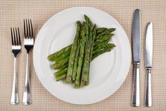 Еда в плите стоковые изображения rf
