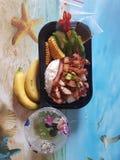 Еда в Ханое стоковая фотография rf
