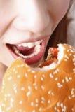 еда гамбургера стоковые фотографии rf