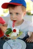 еда десерта ребенка Стоковая Фотография RF