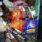 Еда деталей, еды из закусочных стоковая фотография rf