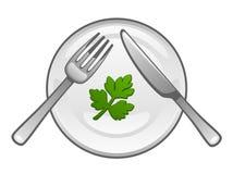 Еда диеты бесплатная иллюстрация