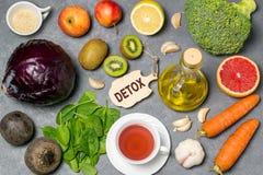 Еда для detoxification стоковые изображения rf