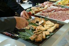 еда доставки с обслуживанием Стоковая Фотография RF