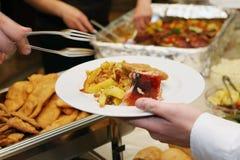 еда доставки с обслуживанием стоковое изображение rf