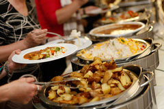 еда доставки с обслуживанием Стоковое фото RF
