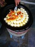Еда завтрака в утре фарфора Стоковые Изображения