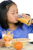 еда завтрака Стоковая Фотография RF