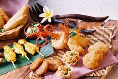 еда закуски тайская Стоковое Изображение RF