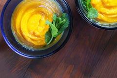 еда здоровая Тыква dhal Стоковая Фотография RF
