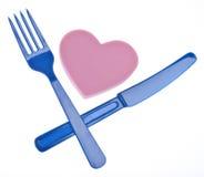еда здорового сердца стоковая фотография