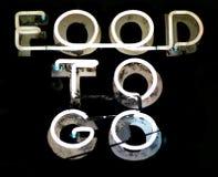 еда идет к Стоковые Фото
