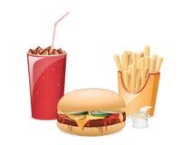 еда из закусочных Стоковая Фотография