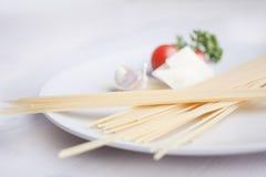 еда итальянки ingridients Стоковые Изображения RF