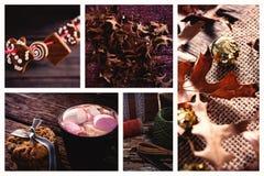 Еда лист и рождества Стоковая Фотография RF