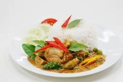 Еда любимчика пусковой площадки PA Moo тайская Стоковое Изображение