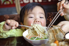 еда младенца стоковое изображение rf