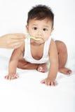 еда младенца Стоковое Фото