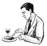 еда обеда бесплатная иллюстрация
