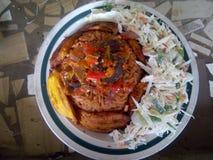 Еда обеда стоковое изображение rf