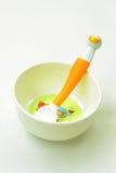 еда оборудования младенца стоковое фото
