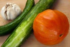 еда органическая Стоковое Изображение