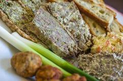 Еда пасхи румына - Drob Стоковая Фотография RF