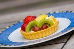 Еда пирога плодоовощ Стоковые Изображения RF