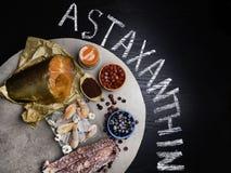 Еда питания астаксантина здоровая стоковые фотографии rf