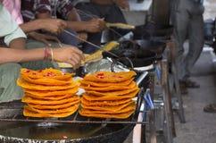 Еда помадки Ghewar Стоковое фото RF