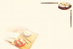 еда предпосылки восточная Стоковая Фотография RF