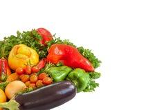 еда предпосылки здоровая Здоровая концепция еды с свежей, сырцовый, v Стоковые Изображения