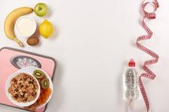 еда принципиальной схемы здоровая slimming Стоковые Изображения