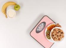 еда принципиальной схемы здоровая slimming Стоковое Изображение