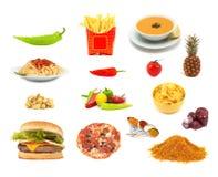 еда принципиальной схемы Стоковая Фотография RF