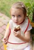 еда ребенка Стоковая Фотография