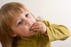 еда ребенка Стоковые Изображения