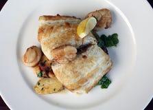 еда рыб Стоковые Изображения